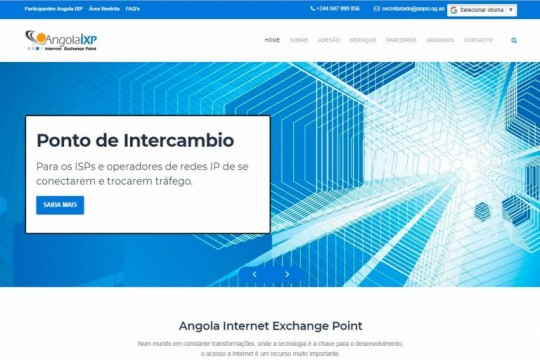 Angola Internet Exchange Point.